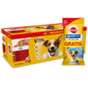 PEDIGREE Adult saszetka 40x100g Mix Smaków + Dentastix small 45g